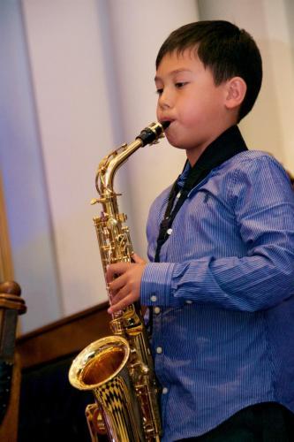 Saxophone student of Antonello's